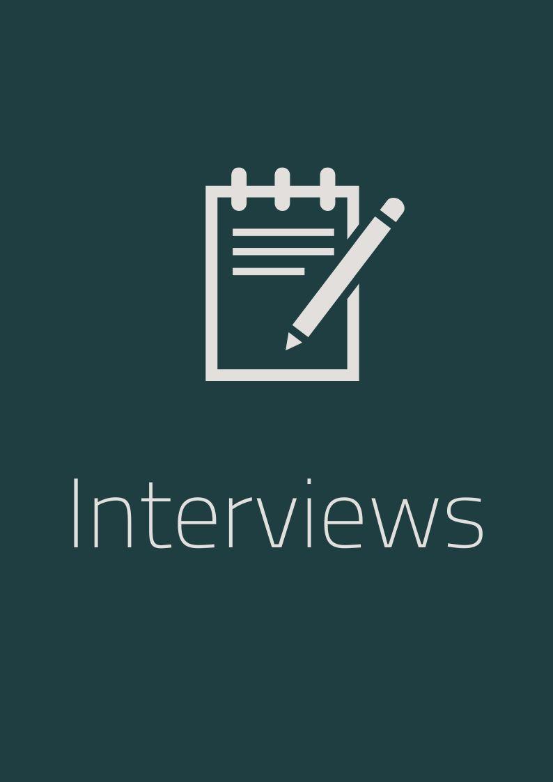 Interviewen het leukste werk dat er is